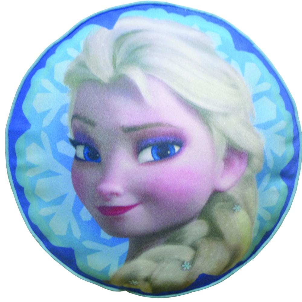 CTI Plyšový polštářek Frozen Elsa (Ledové království) prům.36 cm