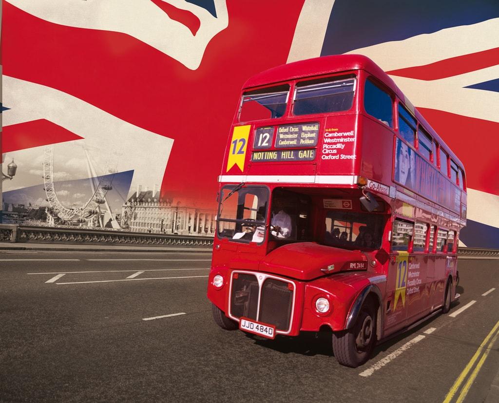 1Wall 1Wall fototapeta Londýnský autobus 315x232 cm