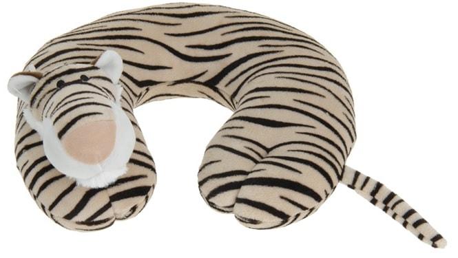 Home collection Plyšový cestovní polštářek tygr 29x29,5cm