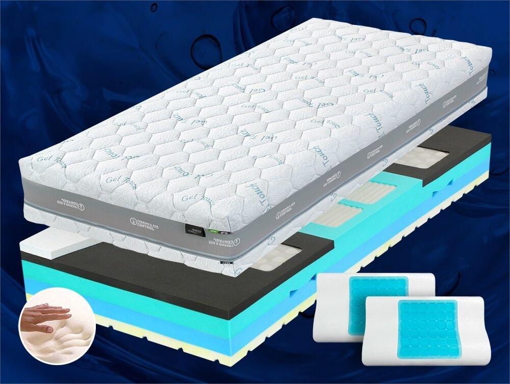 Geltech Gelová hybridní matrace Geltech ULTIMA - 80x195 cm | 1+1 zdarma (2ks) | 26 cm