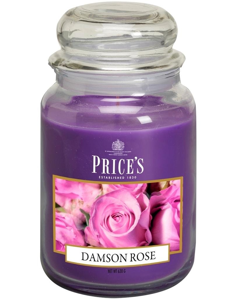 Price´s SIGNATURE MAXI svíčka ve skle Purpurová růže, hoření 150h