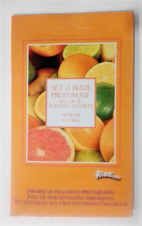 Aladino Aladino vonné sáčky do šatníku Pomeranč & citron