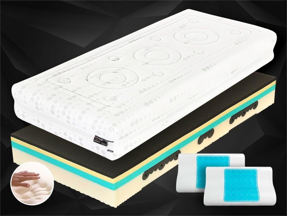 Spirit Zdravotní matrace Tropico SPIRIT Superior VISCO 30cm - 80x200 cm | 1+1 zdarma (2ks)