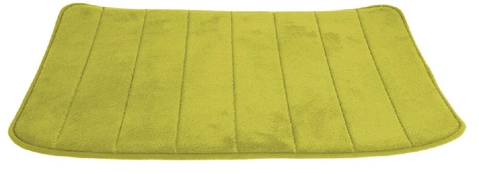 Home collection Koupelnová předložka s paměťovou pěnou 39x61cm zelená