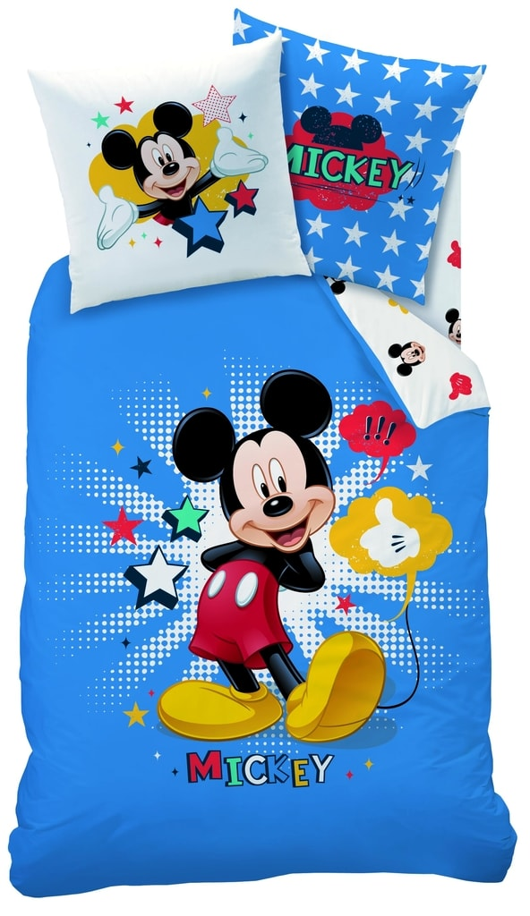 CTI CTI povlečení Mickey Star 140x200,70x90