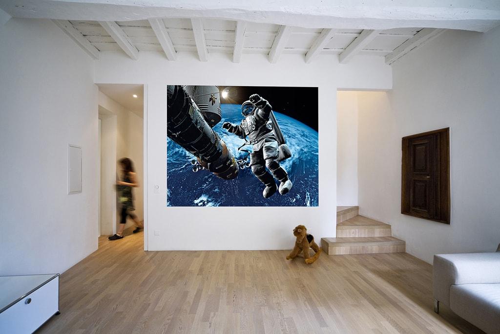 Wizard+Genius W+G vliesová fototapeta Kosmonaut 200x160 cm