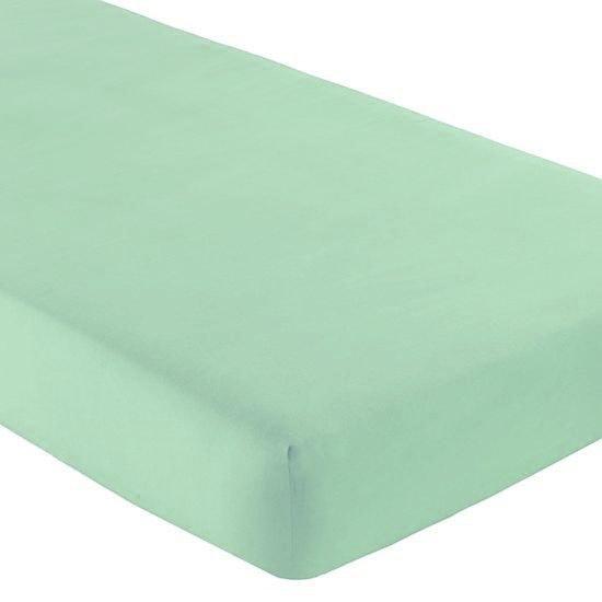 Gipetex Natural Dream Italské prostěradlo s gumičkou 100% bavlna mátová v.25cm - 140x200 cm
