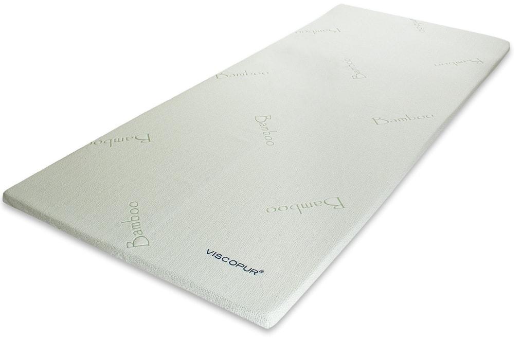 VISCOPUR Vrchní matrace (přistýlky) VISCOPUR® bamboo 3,5 cm - 120x200 cm | 1ks (sleva 50%)