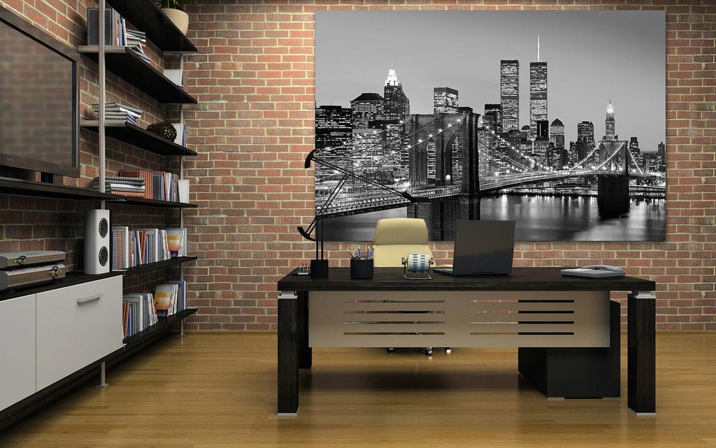 Wizard+Genius W+G Giant Art® Manhattan čb 175x115 cm