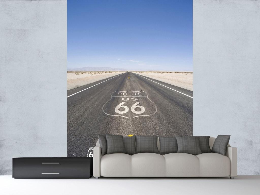 1Wall 1Wall fototapeta Route 66 158x232 cm