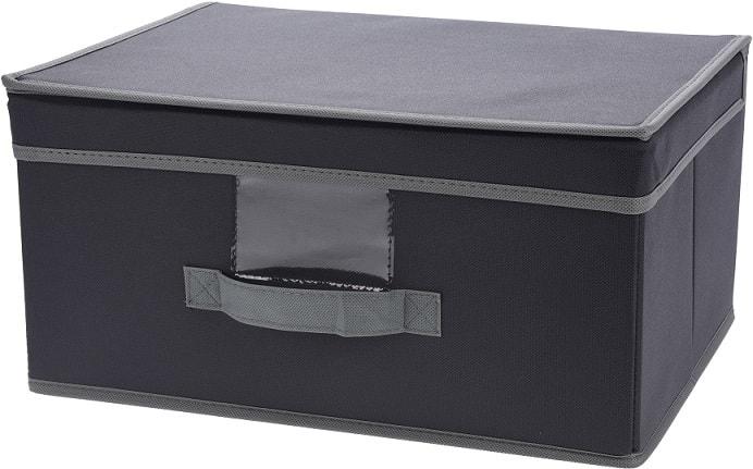 Home collection Úložná krabice s odklápěcím víkem 39x29x19cm