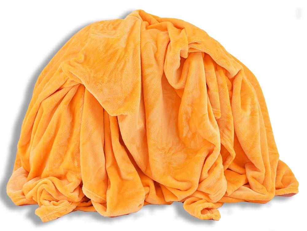 Homeville Homeville deka mikroplyš 150x200 cm žlutá