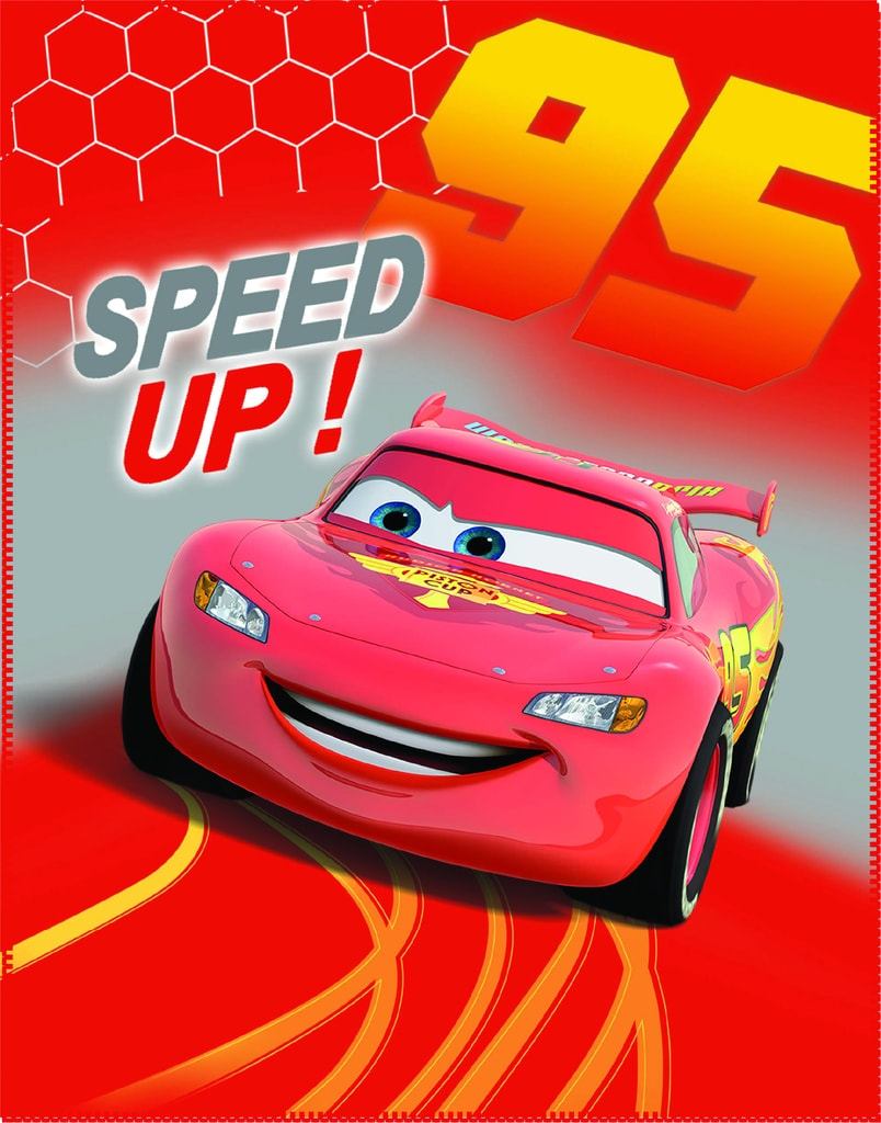 CTI CTI Fleece dečka Cars (Auta) Go Go Go 110x140