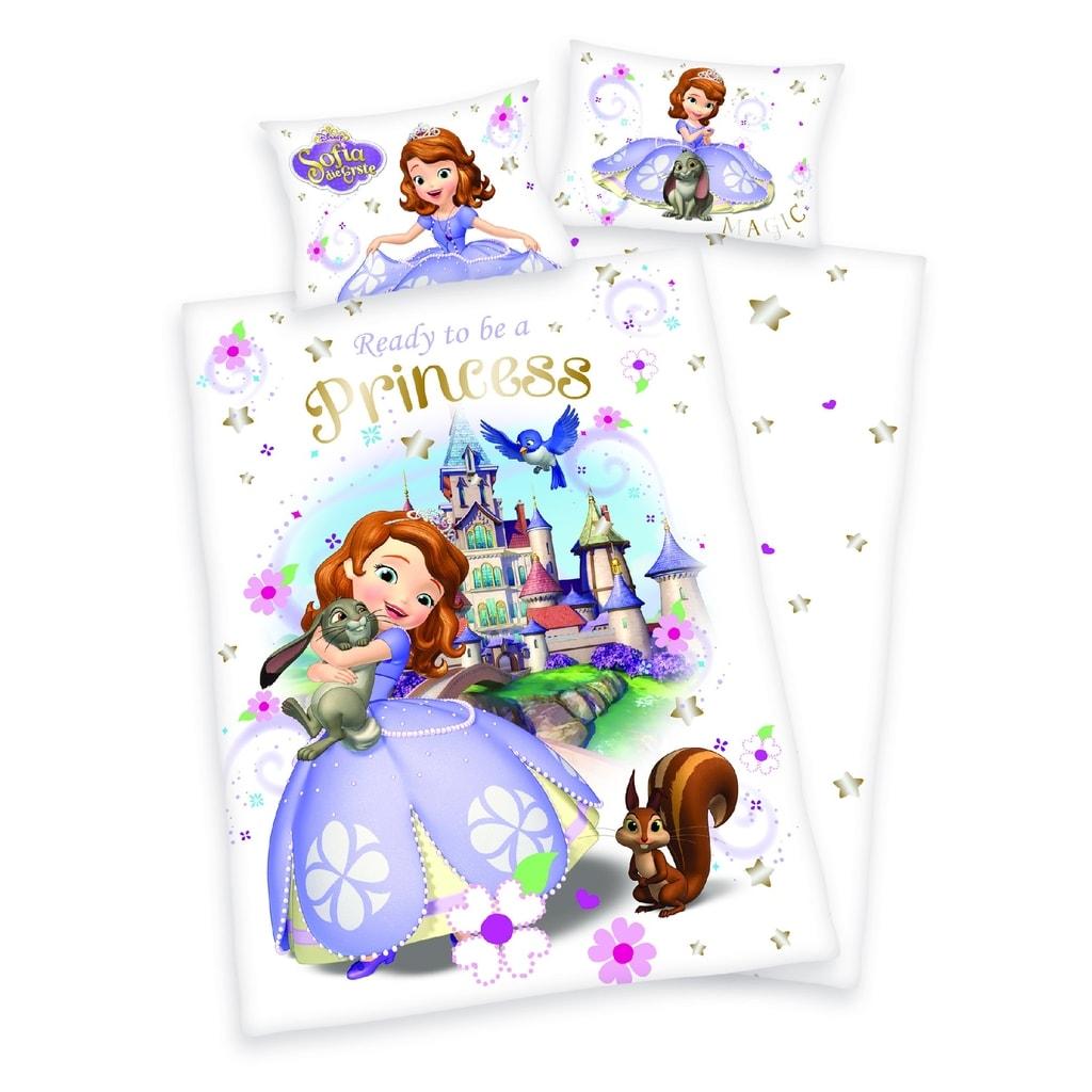 Herding Bavlněné povlečení pro miminka Princezna Sofie první 135x100,40x60
