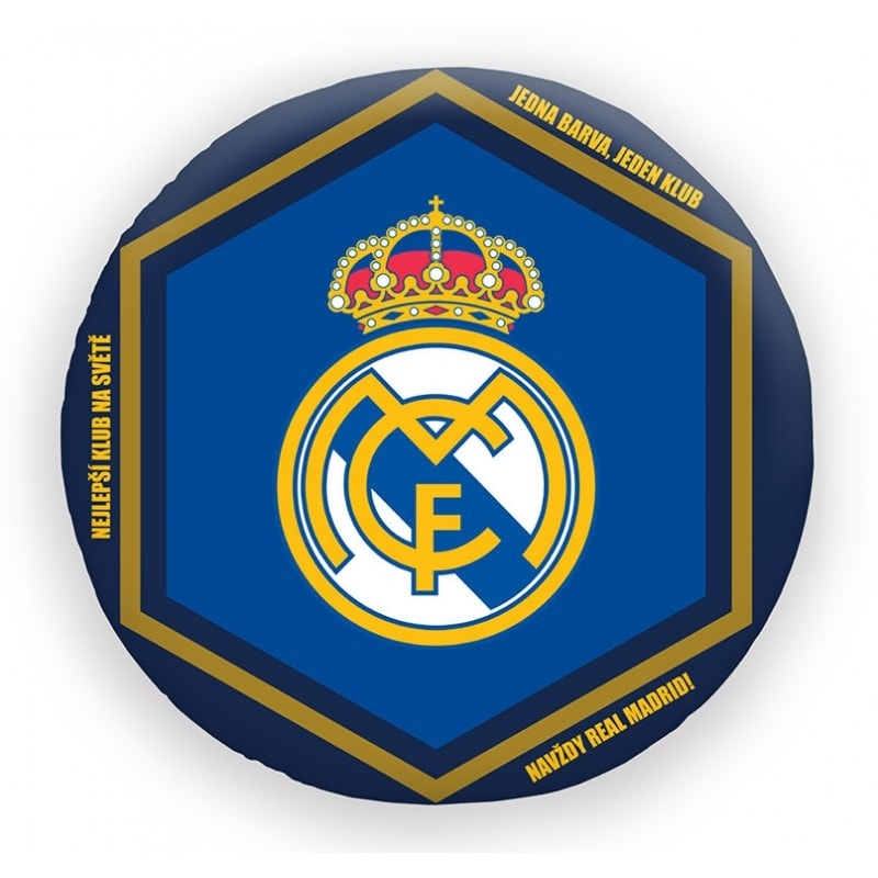 Halantex Halantex polštář FC Real Madrid průměr 35cm