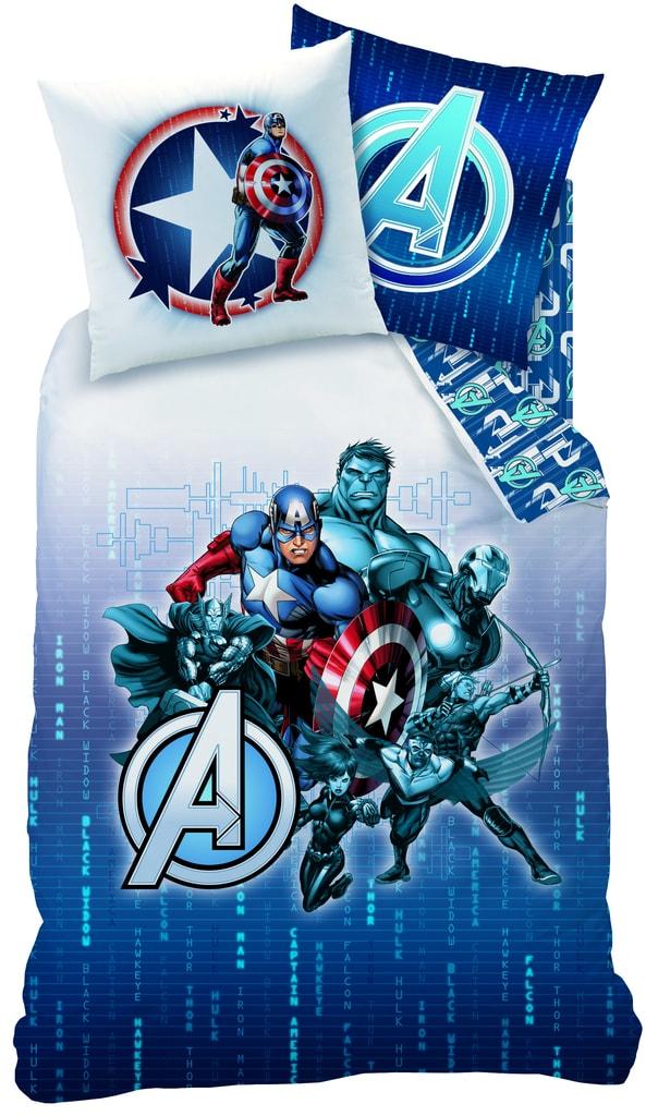 CTI Povlečení Avengers Blue Code 140x200,70x90