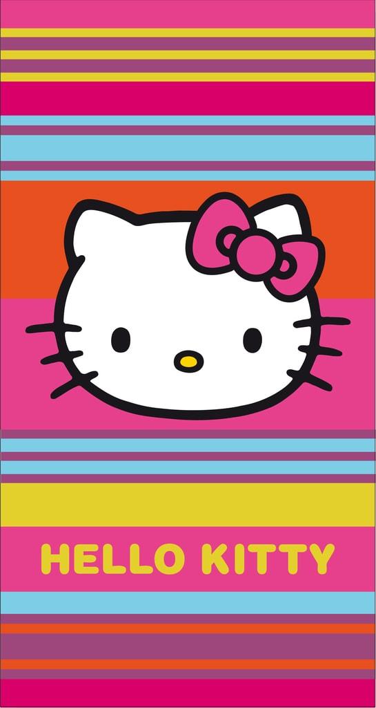 CTI Plážová XXL osuška Hello Kitty Margarita 160x85 cm