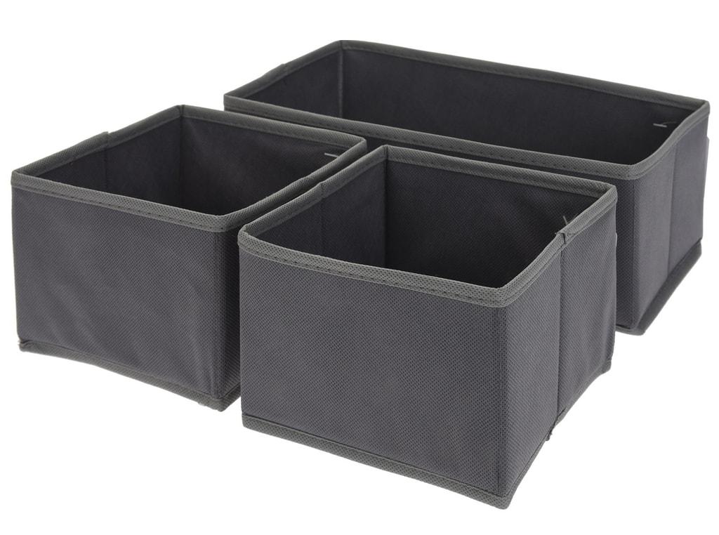 Home collection Úložné boxy - sada 3 kusů