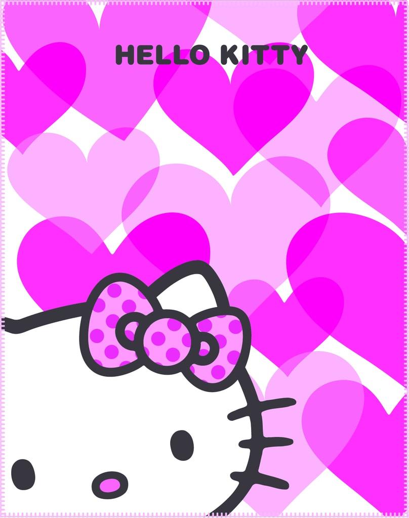 CTI Fleece dečka Hello Kitty Mimi Love 110x140 cm