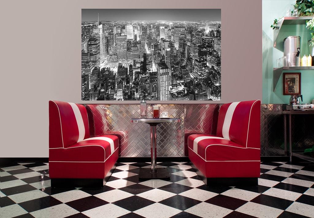 Wizard+Genius W+G Giant Art® Noc v New Yorku 175x115 cm