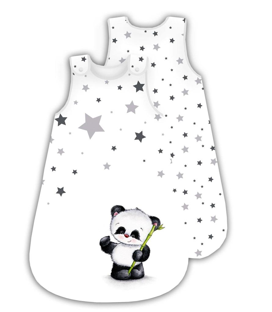 Herding Herding spací pytel Panda hvězdičky 90x45 cm
