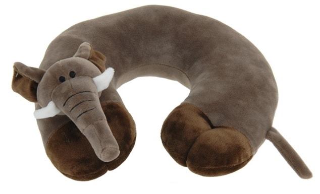 Home collection Plyšový cestovní polštářek slon 29x29,5cm