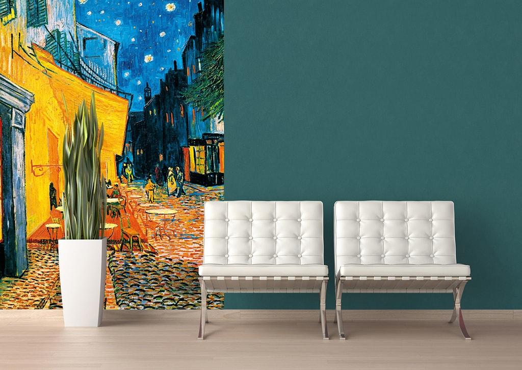 Wizard+Genius W+G fototapeta Vincent van Gogh: Terrasse de Café la Nuit 183x254 cm