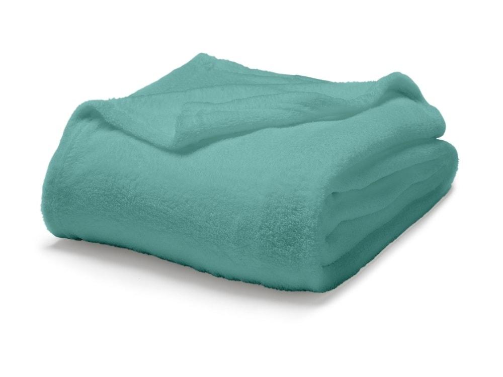 TODAY Maxi fleece deka 220x240 cm Diabolo menthe - tyrkysová