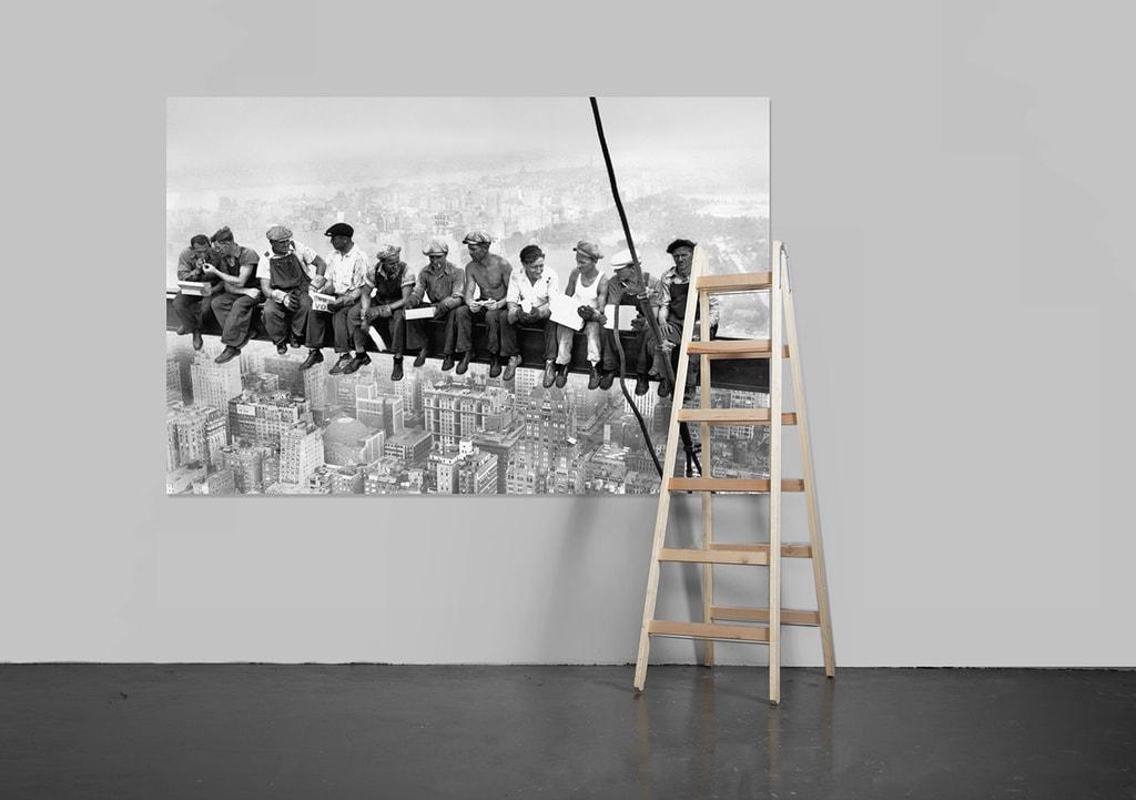 Wizard+Genius W+G Giant Art® Dělníci nad Manhattanem 175x115 cm