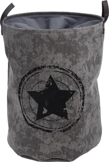 Home collection Prádelní koš s motivem hvězdy 42x55cm
