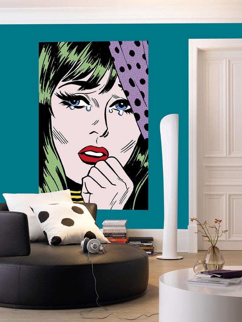 Wizard+Genius W+G Giant Art® Plačící žena 115x175 cm