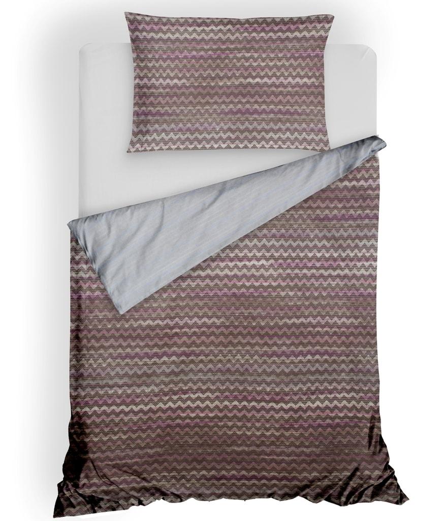 Gipetex Natural Dream Italské povlečení 100% bavlna LUX Persia fialková - 140x220cm / 70x90cm