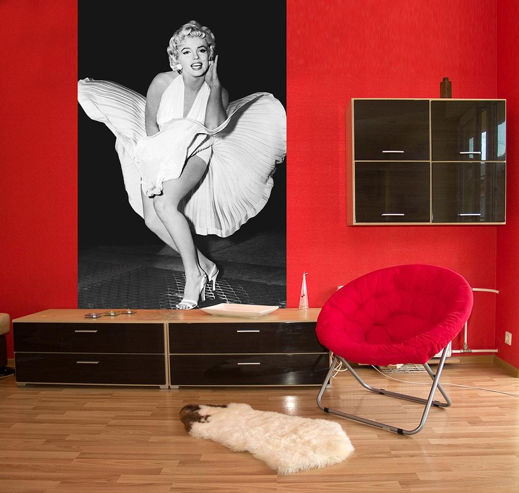 Wizard+Genius W+G Giant Art® Marilyn - legenda 115x175 cm