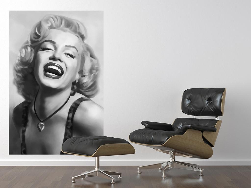 Wizard+Genius W+G Giant Art® Smějící se Marilyn 115x175 cm