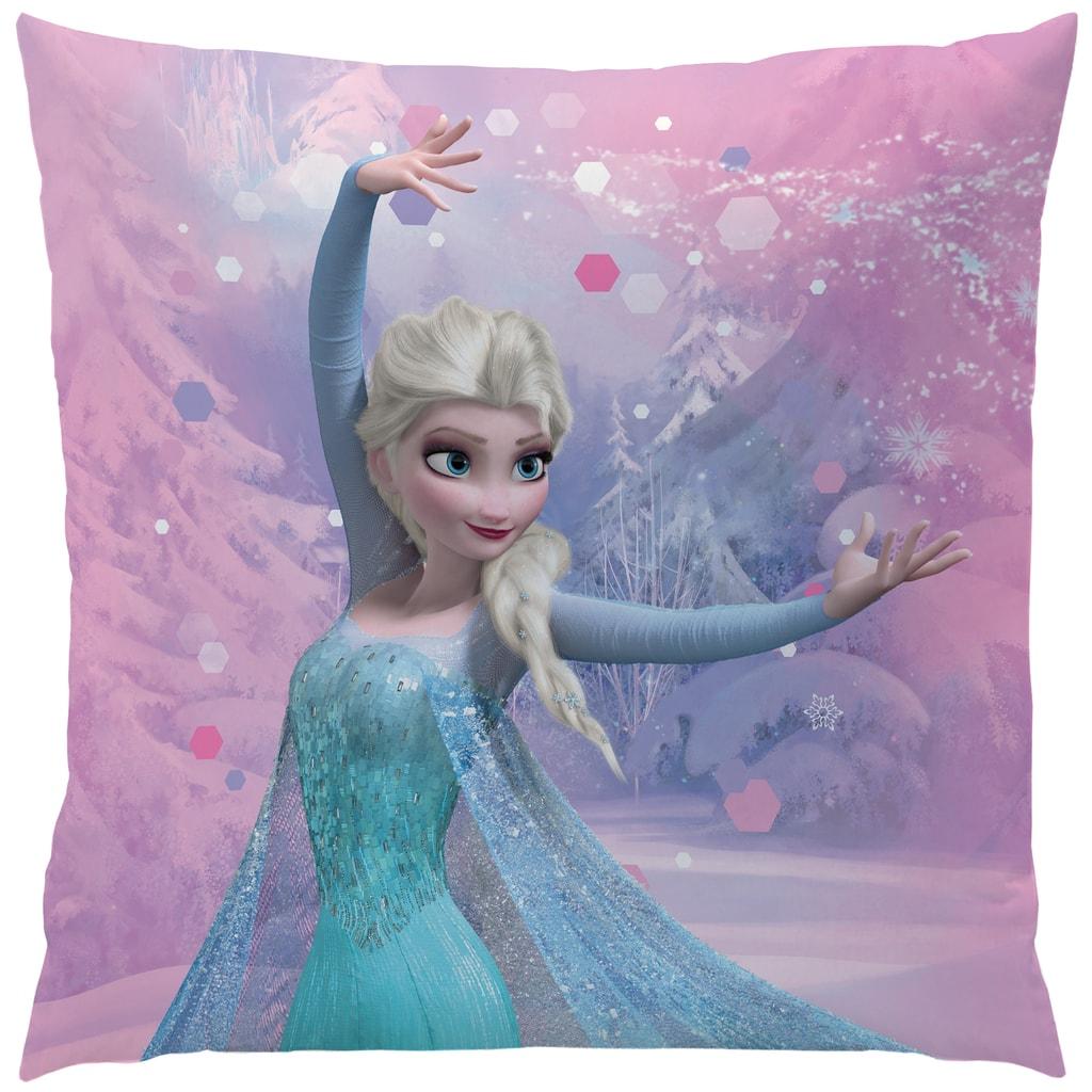 CTI Polštářek Frozen (Ledové království) Pink Mountain 40x40 cm