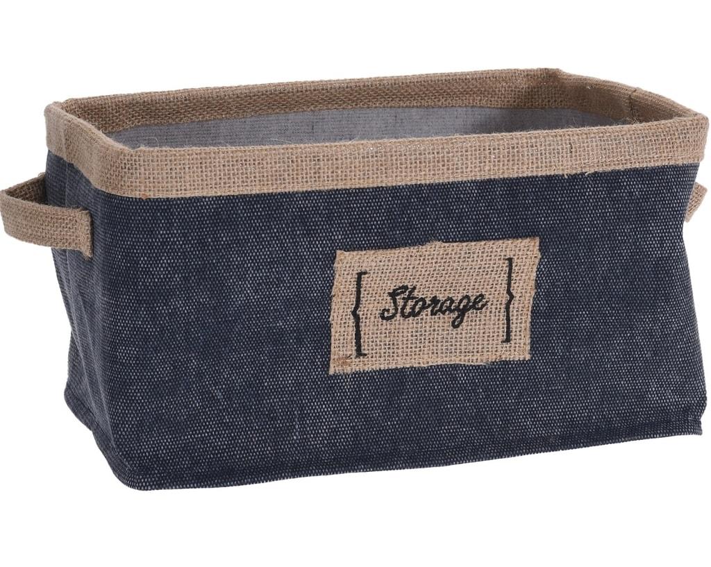 Home collection Úložný box z denimu 28x20x16cm