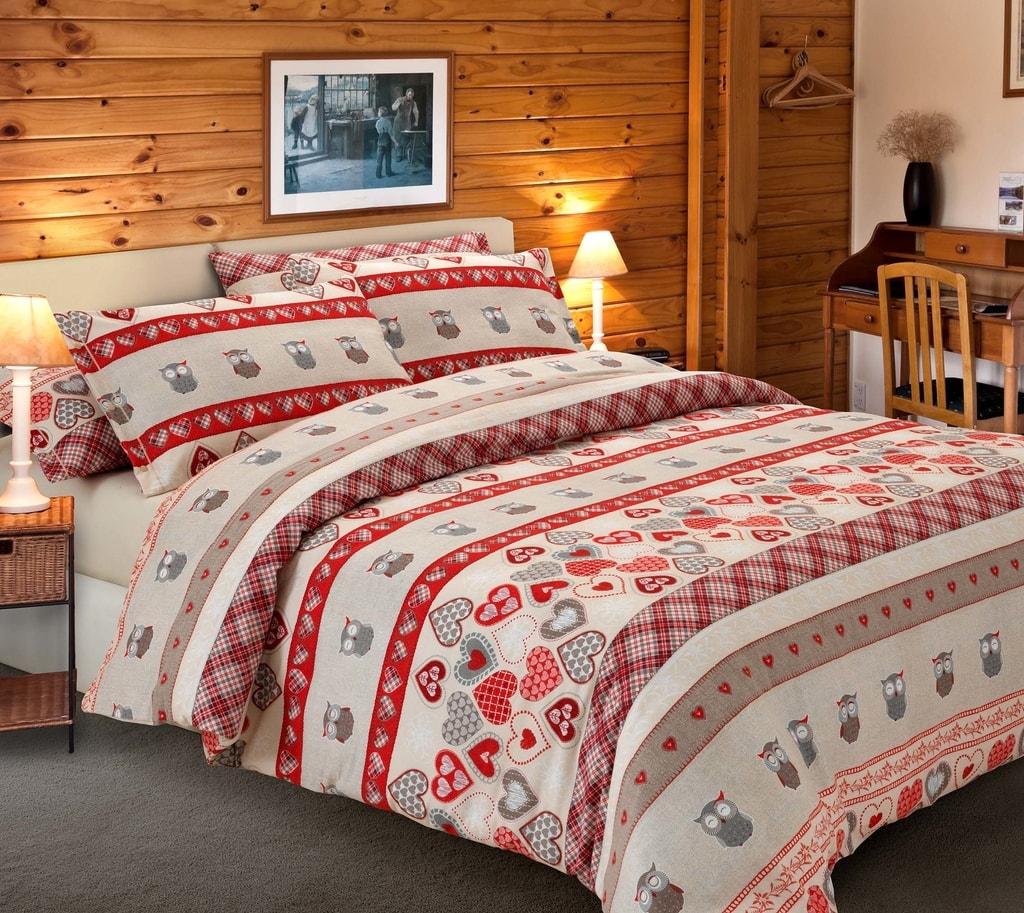 Gipetex Natural Dream Italské povlečení bavlna LUX Folgaria - 140x200cm / 70x90cm
