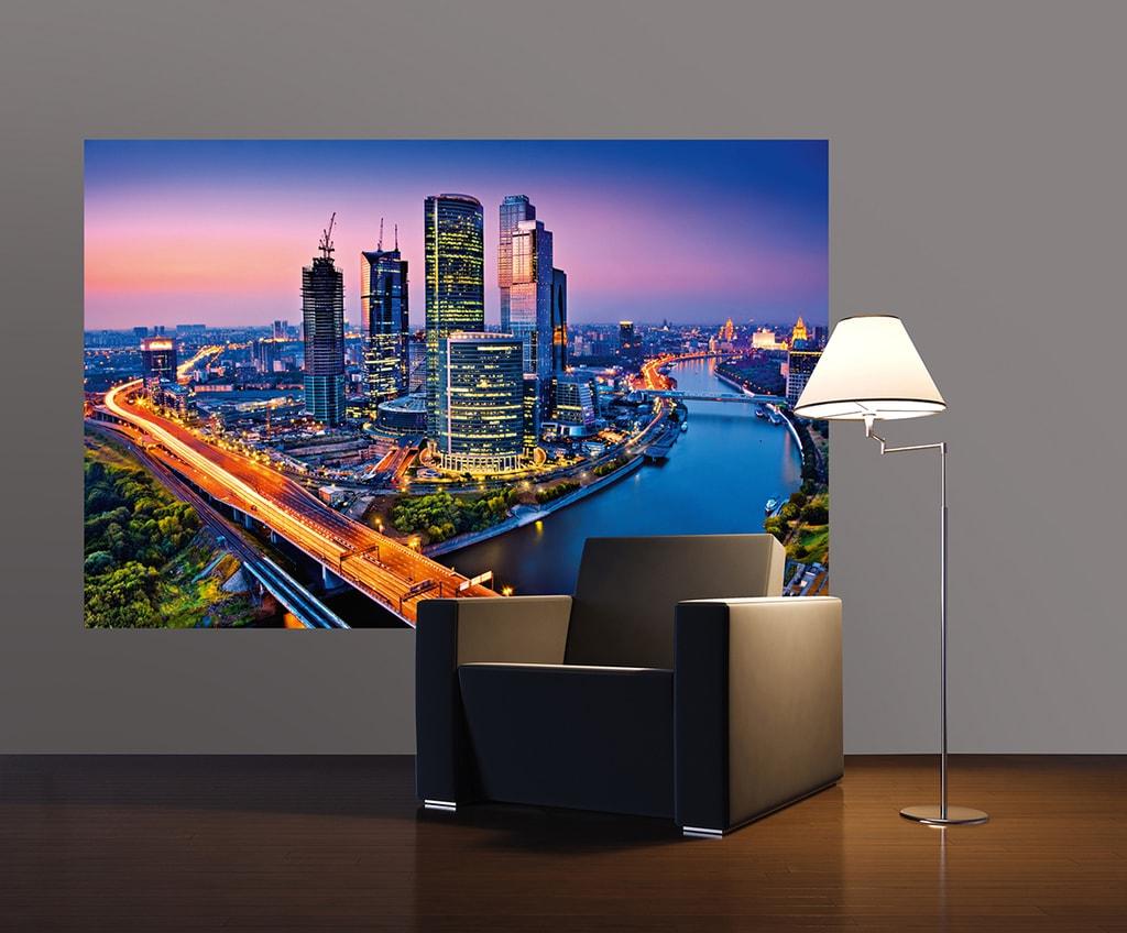 Wizard+Genius W+G Giant Art® Stmívání nad Moskvou 175x115 cm