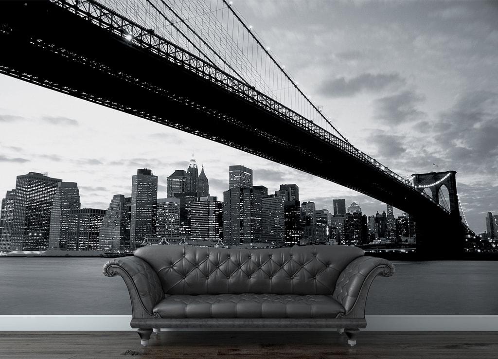 1Wall 1Wall fototapeta NY a Brooklynský most 315x232 cm