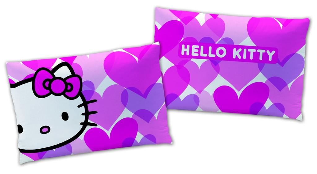 CTI Plyšový polštářek Hello Kitty Mimi Love 28x42 cm