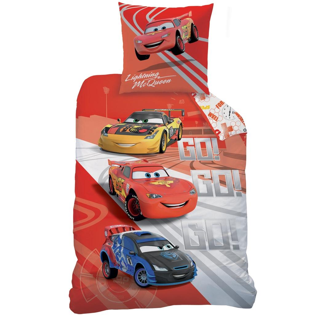 CTI CTI Povlečení Cars (Auta) Go Go Go 140x200,70x90