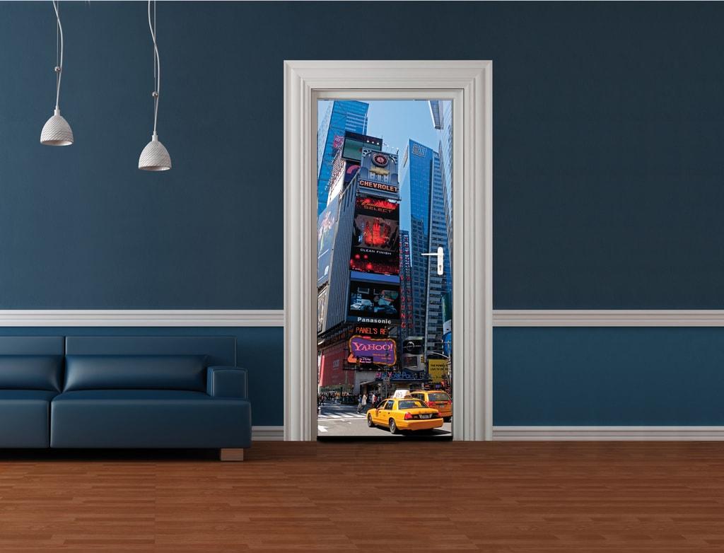 1Wall 1Wall fototapeta Times Square 95x210 cm