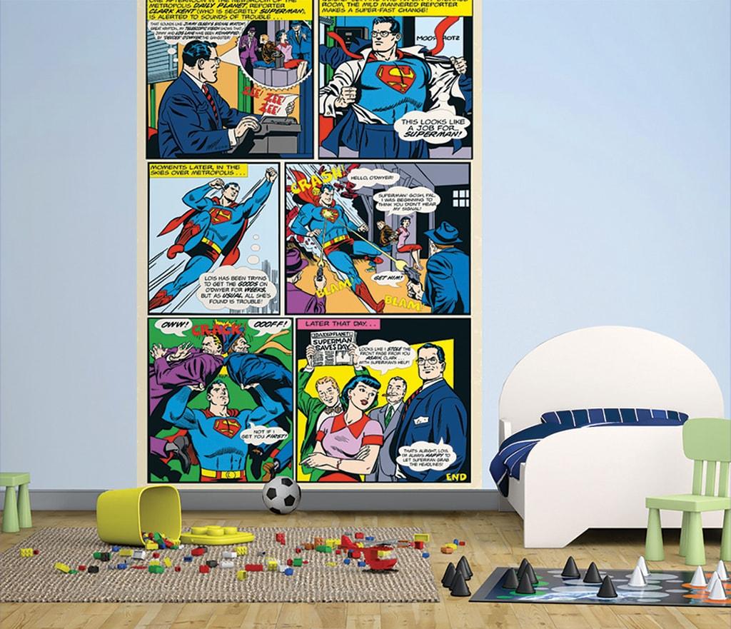 1Wall 1Wall fototapeta Superman komiks 158x232 cm