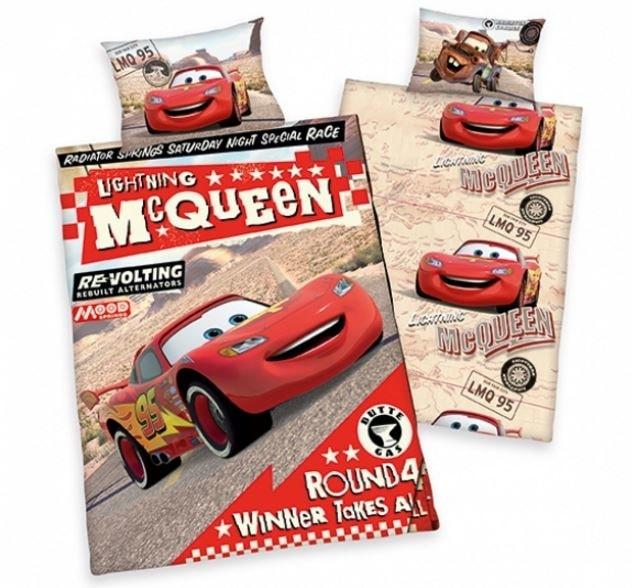 Herding Povlečení pro miminka Cars (Auta) Lightning McQueen 135x100,40x60