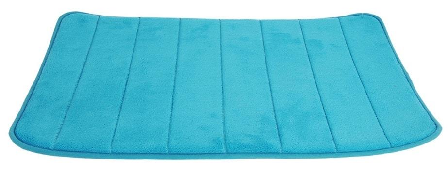Home collection Koupelnová předložka s paměťovou pěnou 39x61cm modrá
