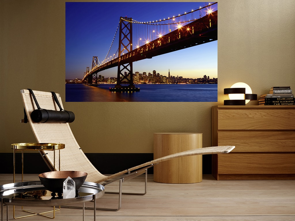Wizard+Genius W+G Giant Art® San Francisco - panorama 175x115 cm