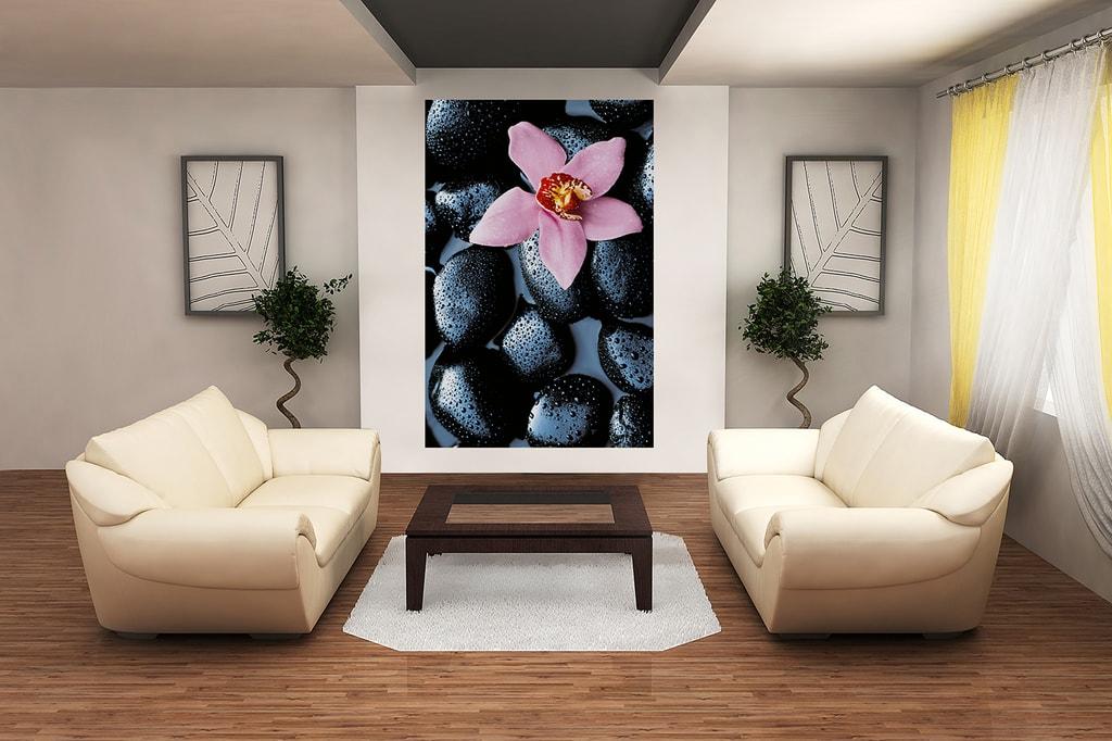 Wizard+Genius W+G Giant Art® Kamenná orchidej 115x175 cm