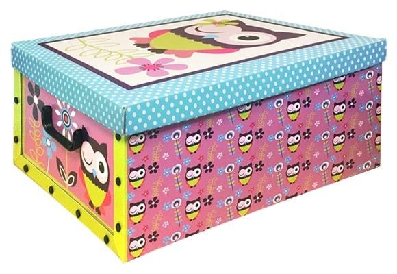 Home collection Úložné krabice 49x39x24cm mrkající sova