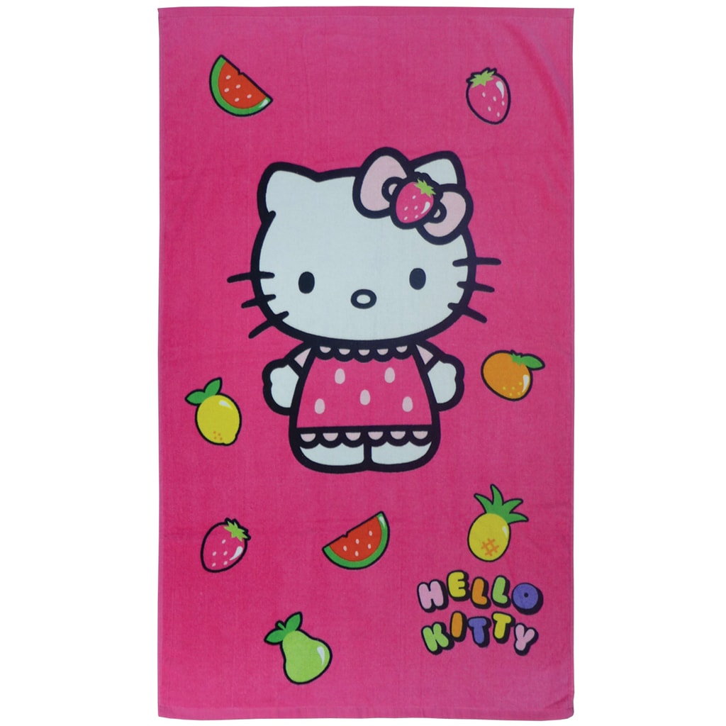 CTI CTI Osuška Hello Kitty Fruity 70x120 cm