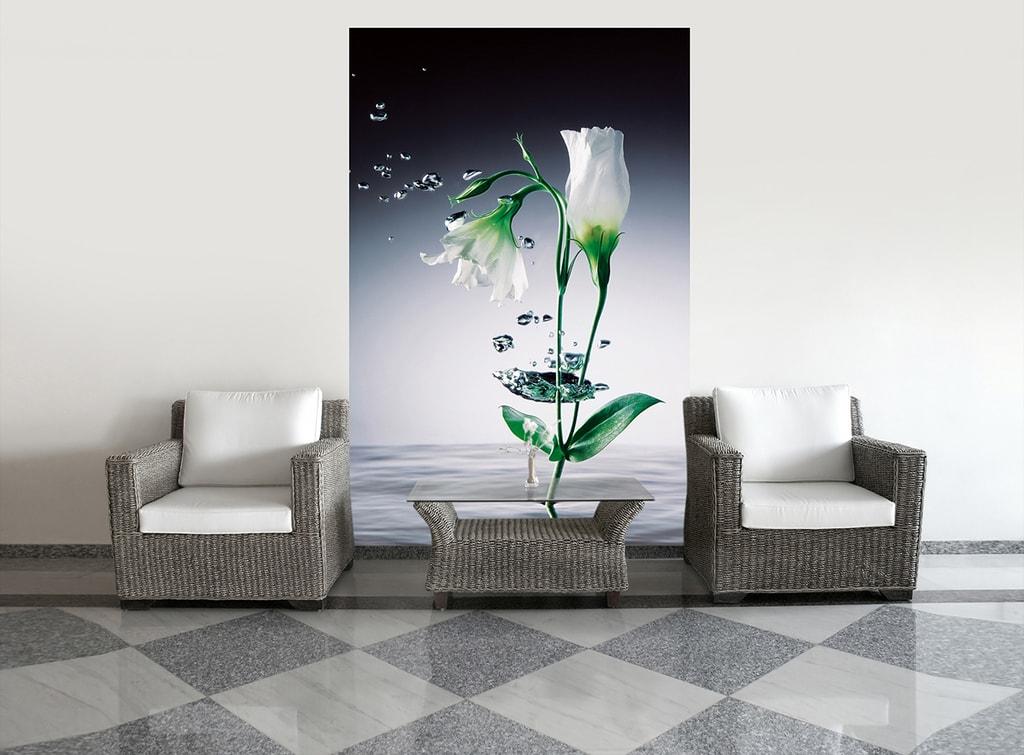 Wizard+Genius W+G Giant Art® Květina ve vodě 115x175 cm